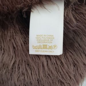 kate spade Sweaters - Kate Spade Brown Fuzzy Bow Sweater XS